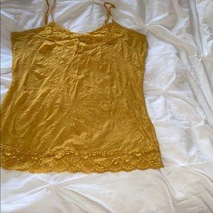 Mustard gold camisole